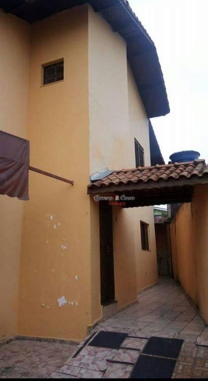 Sobrado residencial para locação, Vila Flórida, Guarulhos.