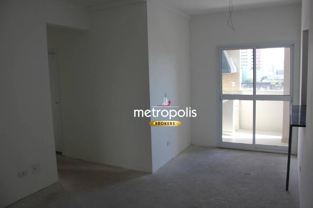 Apartamento com 3 dormitórios para alugar, 85 m² por R$ 2.000/mês - Barcelona - São Caetano do Sul/SP