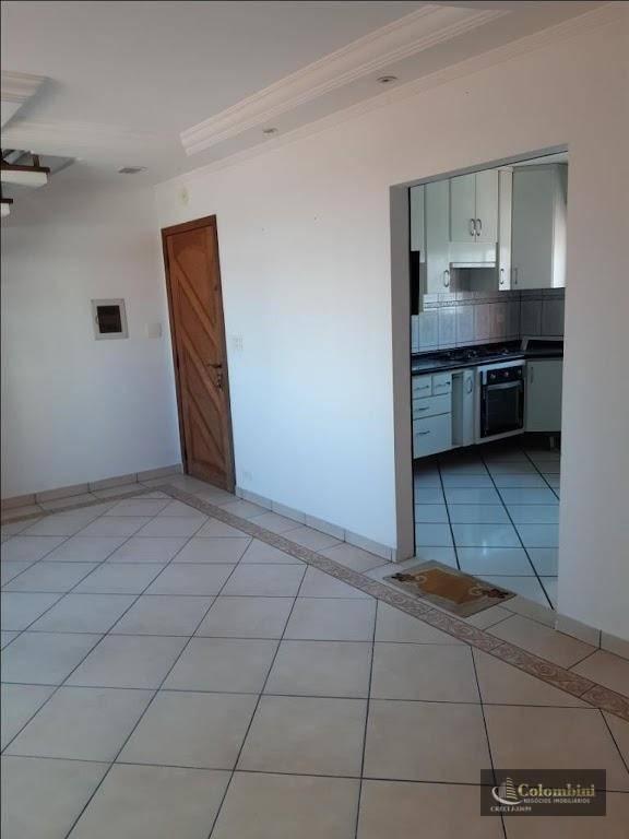 Cobertura com 3 dormitórios para alugar - Vila Príncipe de Gales - Santo André/SP