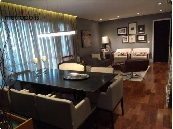 Apartamento com 3 dormitórios à venda, 135 m² por R$ 1.250.000 - Cerâmica - São Caetano do Sul/SP