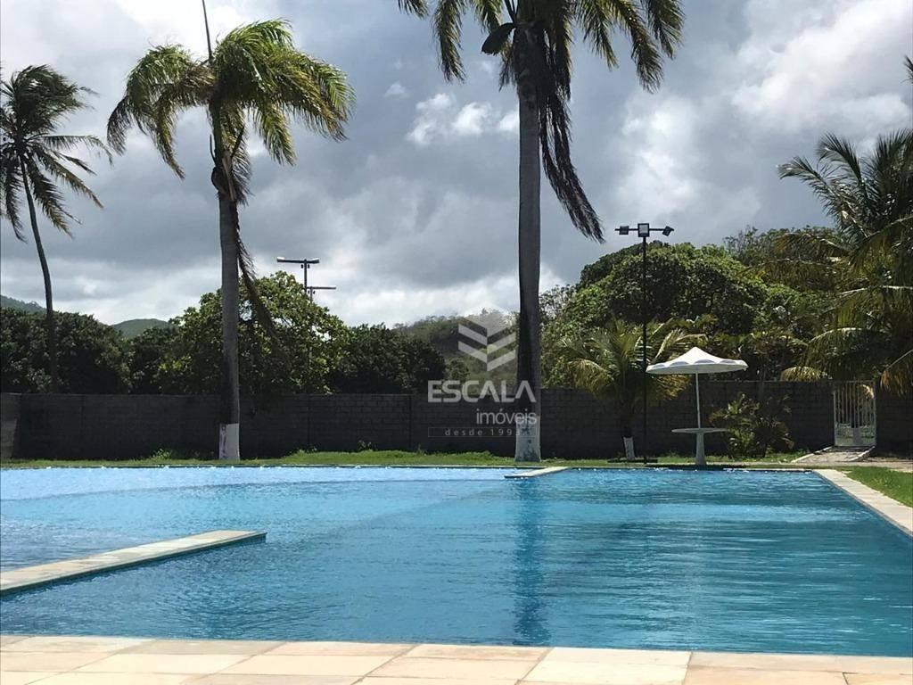 Lote à venda, 265 m², Vila do Porto, condomínio fechado, financia - Lagoa do Banana - Caucaia/CE