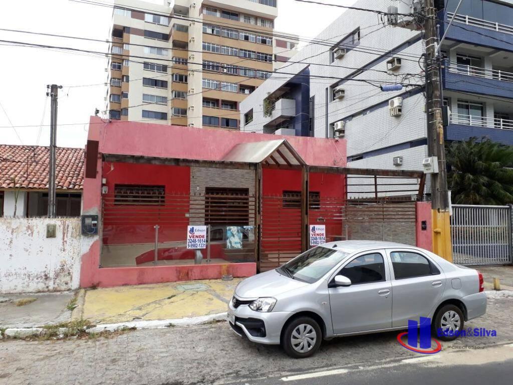 Casa comercial para venda, Praia de Tambaú, João Pessoa.