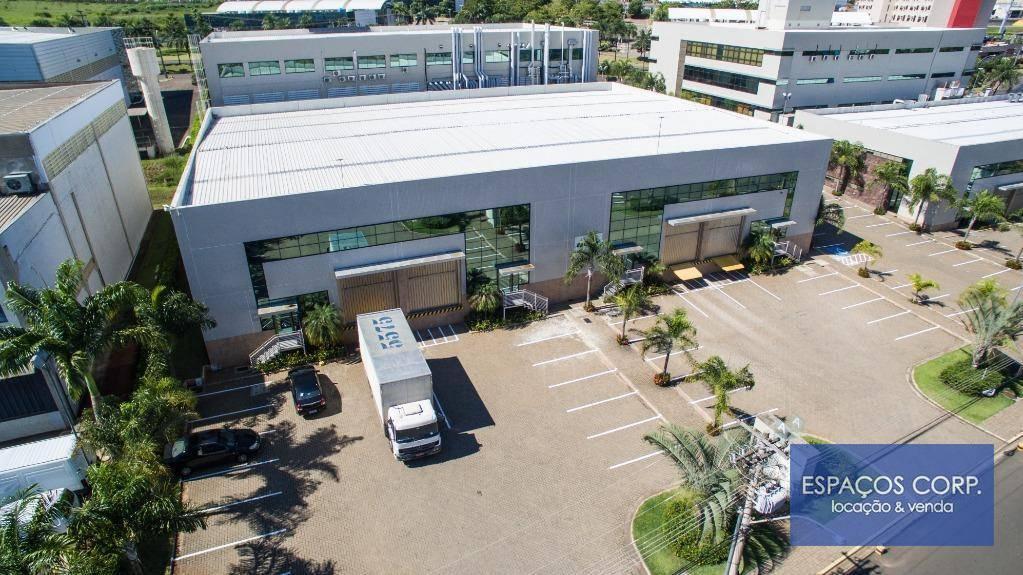 Galpão logístico para alugar, 418m² - Techno Park - Campinas/SP
