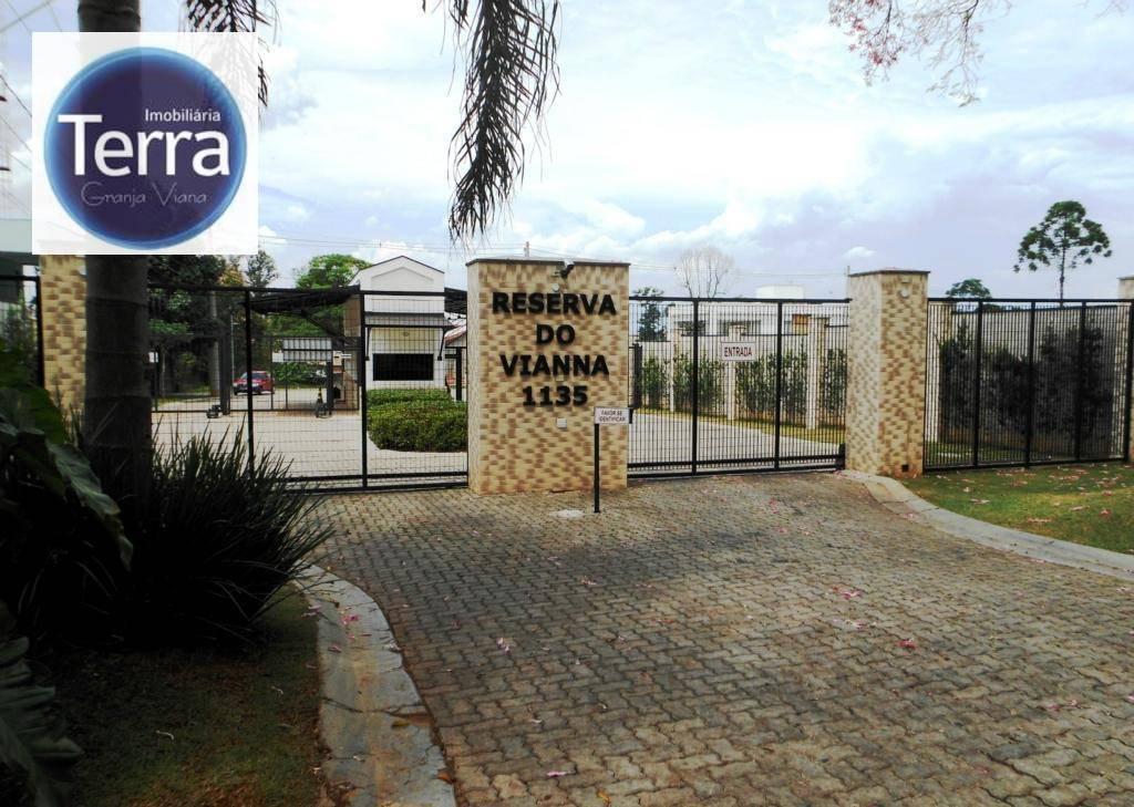 Terreno à venda, 525 m² por R$ 472.500 - Reserva do Vianna - Granja Viana