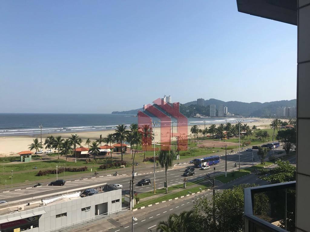 Flat com 1 dormitório à venda, 43 m² por R$ 320.000,00 - Itararé - São Vicente/SP