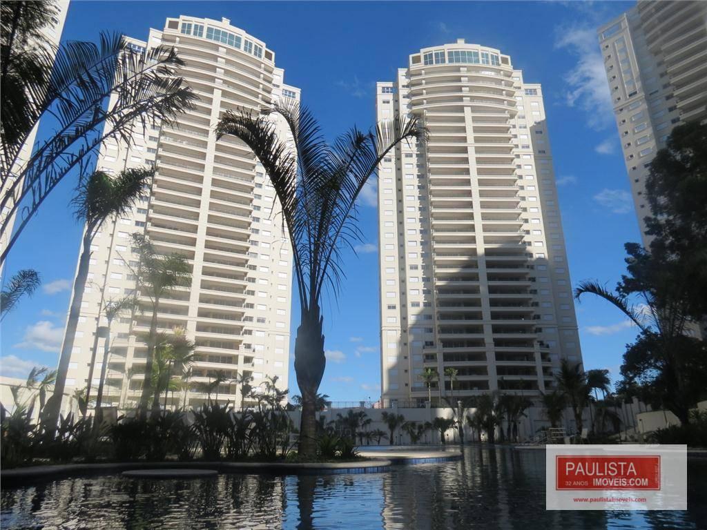 Apartamento com 4 dormitórios para alugar, 223 m² por R$ 10.000/mês - Jardim Marajoara - São Paulo/SP