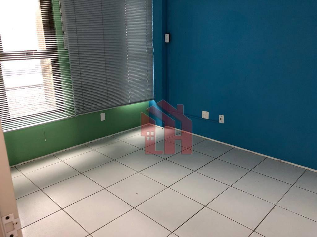 Sala para alugar, 90 m² por R$ 1.900/mês + encargos - Gonzaga - Santos/SP