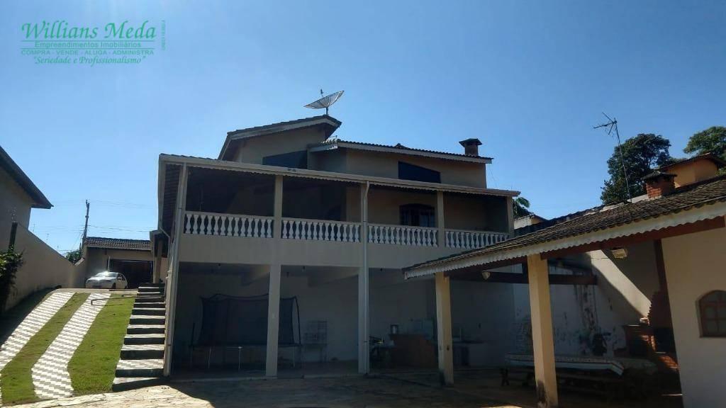 Chácara com 4 dormitórios à venda, 2000 m² por R$ 1.200.000 - Jardim Estância Brasil - Atibaia/SP