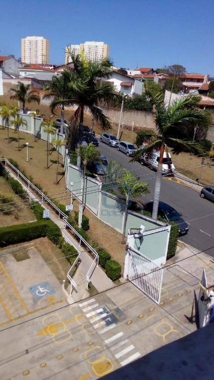 Apartamento com 2 dormitórios para alugar, 51 m² por R$ 762,66/mês - Vila Carminha - Campinas/SP