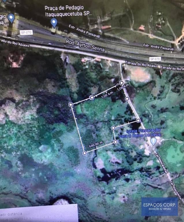 Terreno à venda, 53000m² - Rio Abaixo - Itaquaquecetuba/SP