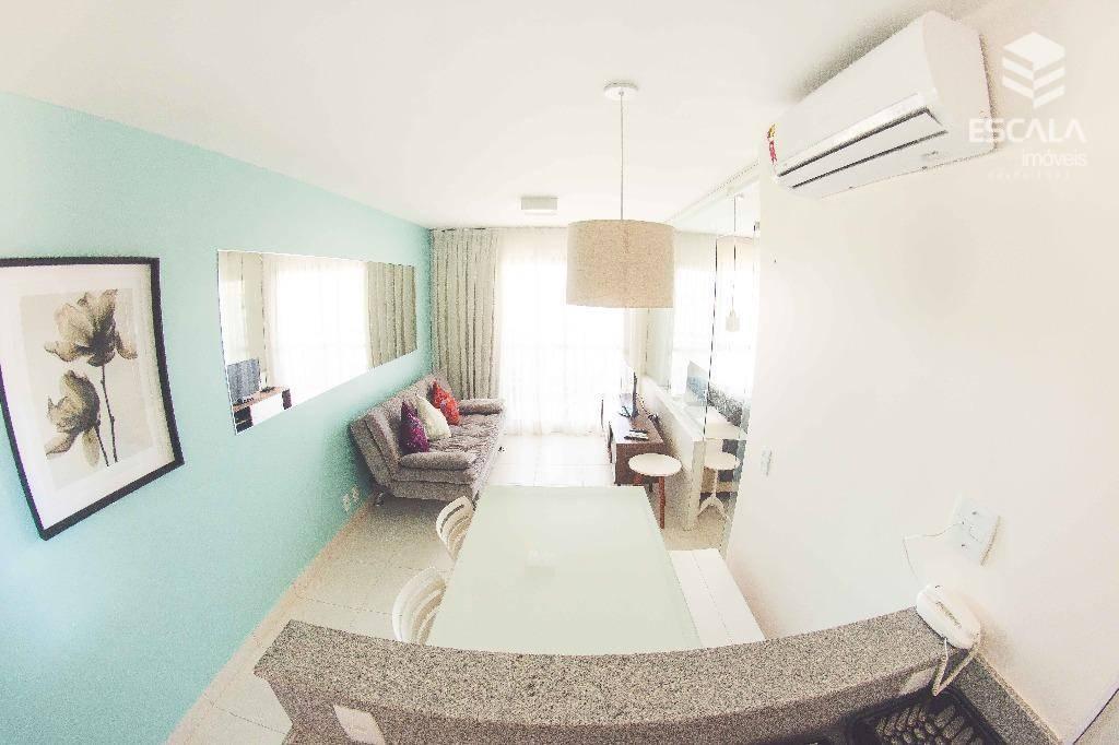 Apartamento para alugar, 39 m² por R$ 250,00/dia - Cumbuco - Caucaia/CE