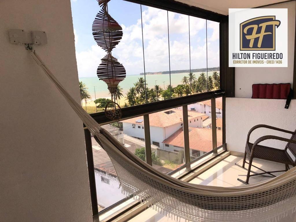 Cobertura com 3 dormitórios para alugar, 133 m² por R$ 5.000/mês - Cabo Branco - João Pessoa/PB