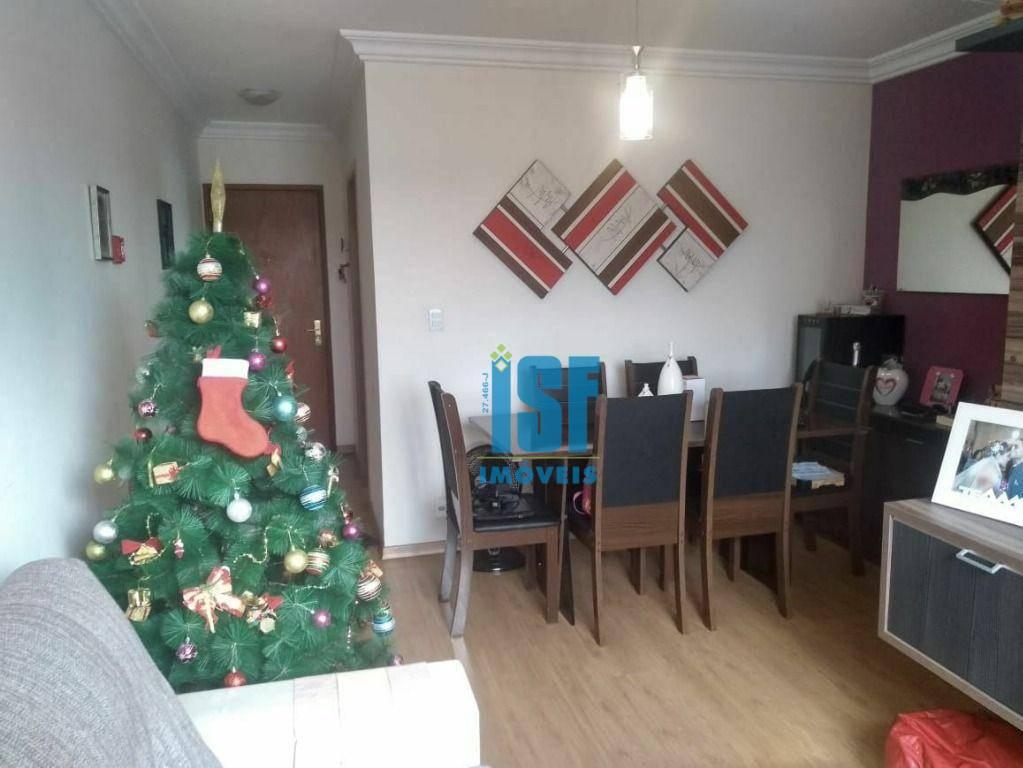Apartamento com 3 dormitórios à venda, 67 m² por R$ 265.000,00 - Jaguaribe - Osasco/SP