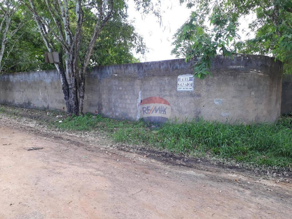 Terreno em Aldeia, km 12, murado.