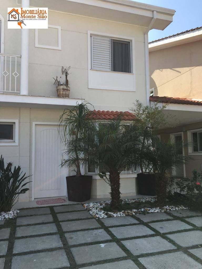 Sobrado no Condomínio Reserva Sunville com 3 dormitórios à venda, 201 m²  - Centro - Arujá/SP