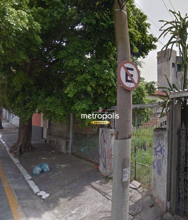 Terreno para alugar, 330 m² por R$ 4.300,00/mês - Santa Paula - São Caetano do Sul/SP