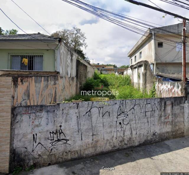 Terreno para alugar, 250 m² por R$ 2.800,00/mês - Cerâmica - São Caetano do Sul/SP