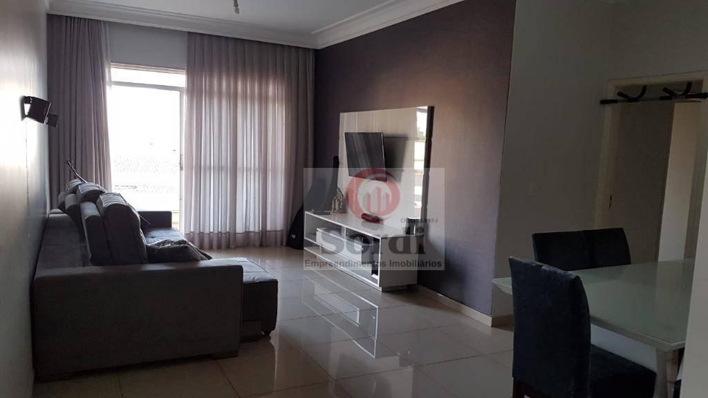 Apartamento com 3 dormitórios à venda, 110 m² por R$ 355.000 - Jardim Irajá - Ribeirão Preto/SP