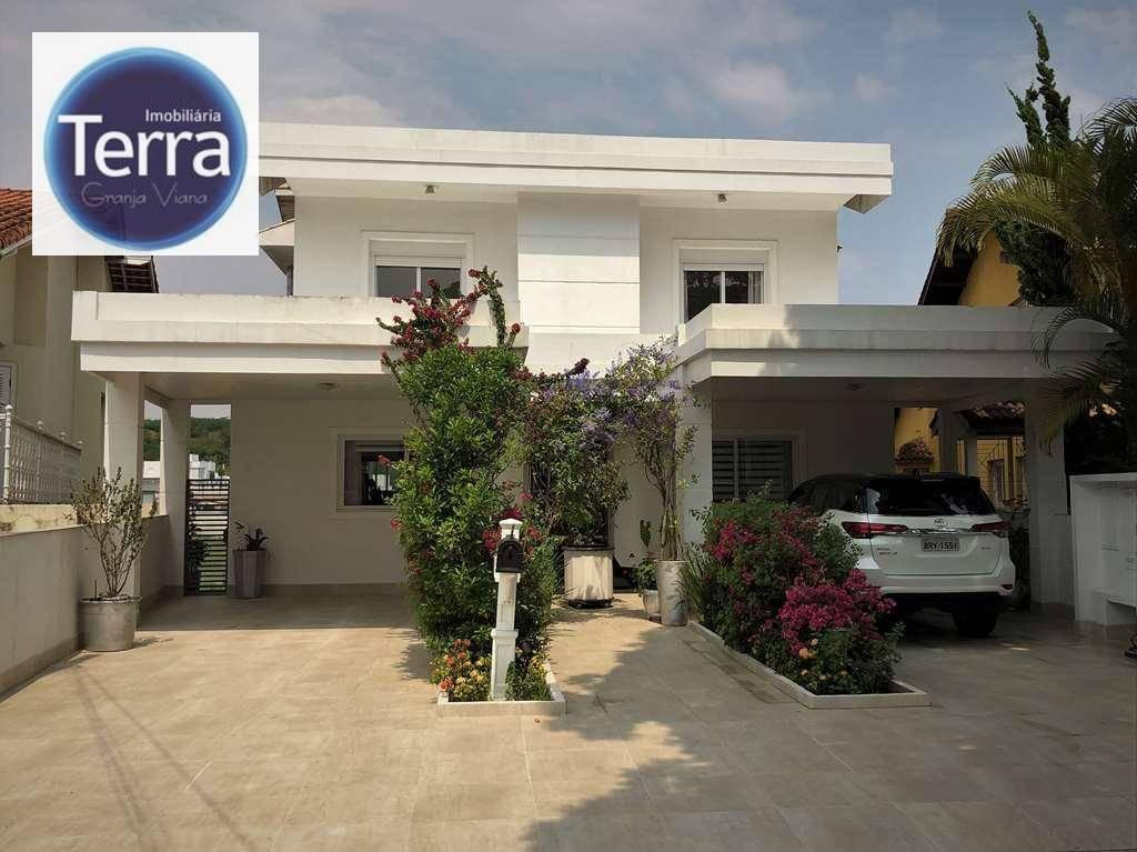Casa com 4 dormitórios à venda, 413 m² por R$ 3.200.000 - São Paulo II - Granja Viana