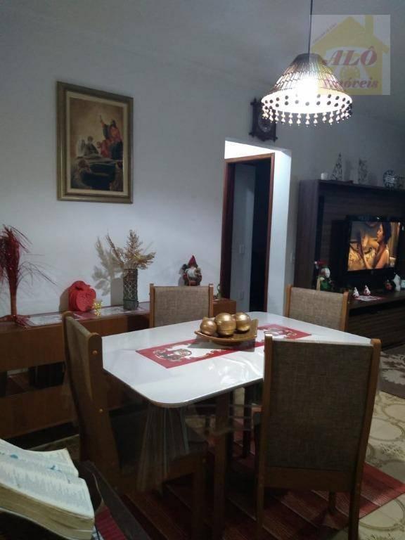 Apartamento à venda, 62 m² por R$ 220.000,00 - Centro - Mongaguá/SP