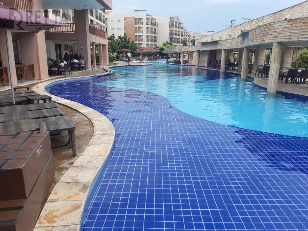 Apartamento com 4 dormitórios à venda, 121 m² por R$ 675.000 - Porto das Dunas - Aquiraz/CE