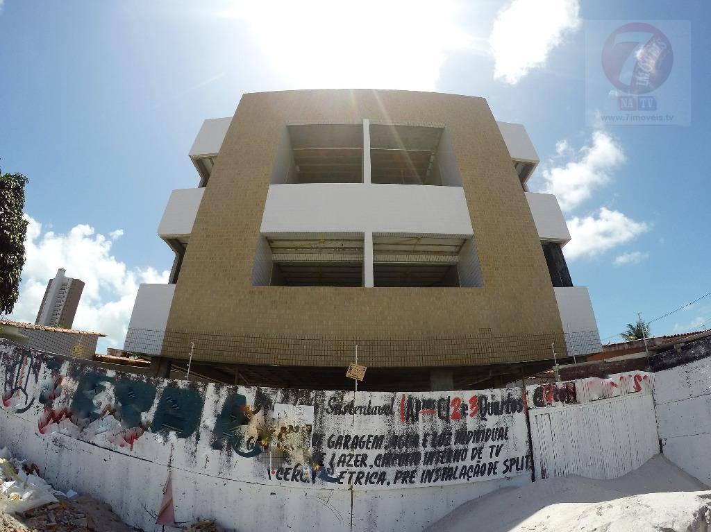 Apartamento residencial à venda, Bessa, João Pessoa - AP0164