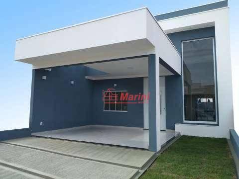 Casa com 3 dormitórios 1 Suite, Area Gourmet, Cond. com Piscina à venda, 105 m² por R$ 550.000 - Loteamento Terras de São Pedro e São Paulo - Salto/SP