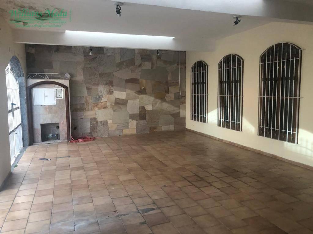 Sobrado com 3 dormitórios para alugar, 339 m² por R$ 3.500,00/mês - Jardim Santa Mena - Guarulhos/SP