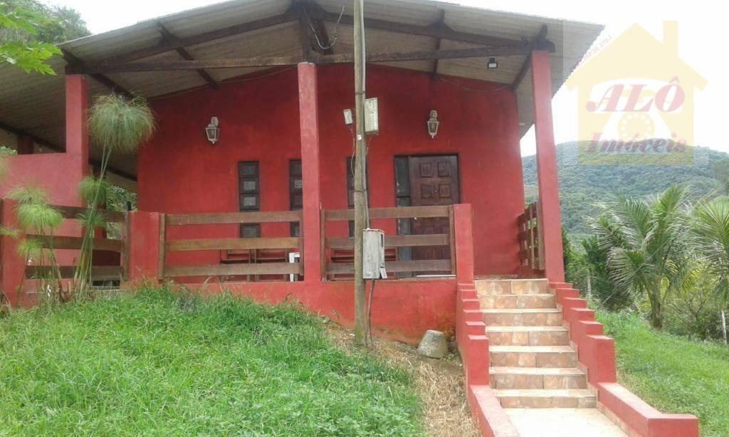 Sítio com 2 dormitórios à venda, 48400 m² por R$ 220.000