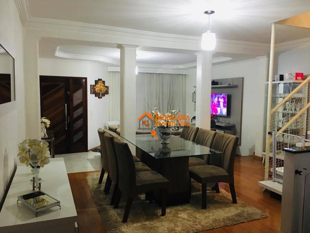 Excelente Sobrado no Parque Flamengo com 5 dormitórios, 126 m² - Parque Flamengo - Guarulhos/SP