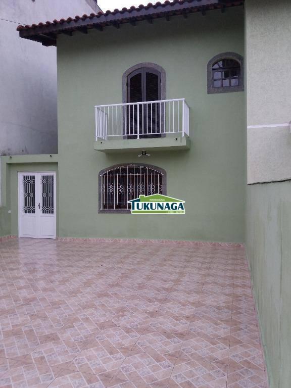 Sobrado com 2 dormitórios à venda, 134 m² por R$ 550.000 - Jardim Las Vegas - Guarulhos/SP
