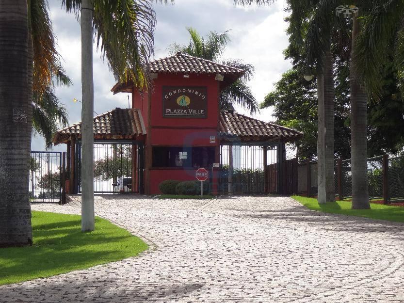 Excelente Terreno residencial à venda, Condomínio Plazza Ville, Jaguariúna.