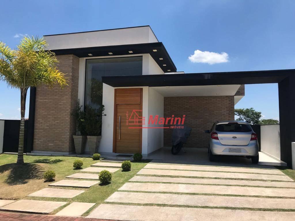 Casa com 3 dormitórios à venda, 165 m² por R$ 740.000,00 - Condomínio Lagos D'Icaraí - Salto/SP