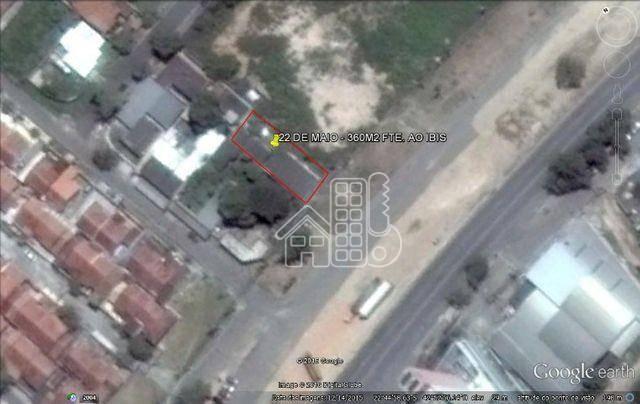 Terreno à venda, 361 m² por R$ 500.000,00 - Venda Das Pedras - Itaboraí/RJ