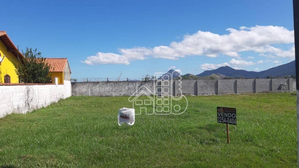 Terreno à venda, 404 m² por R$ 150.000,00 - Centro - Maricá/RJ