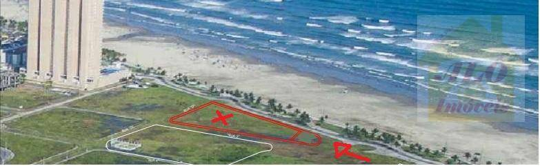 Terreno à venda, 540 m² por R$ 3.200.000 - Vila Mirim - Praia Grande/SP
