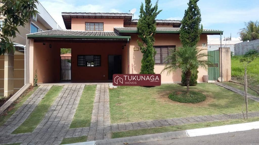 Casa, 178 m² - venda por R$ 690.000,00 ou aluguel por R$ 3.500,00/mês - Condomínio Terras de Atibaia II - Atibaia/SP