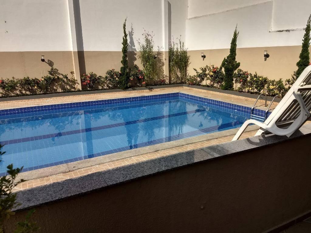 Apartamento residencial à venda, 52 m², Utinga, Santo André.
