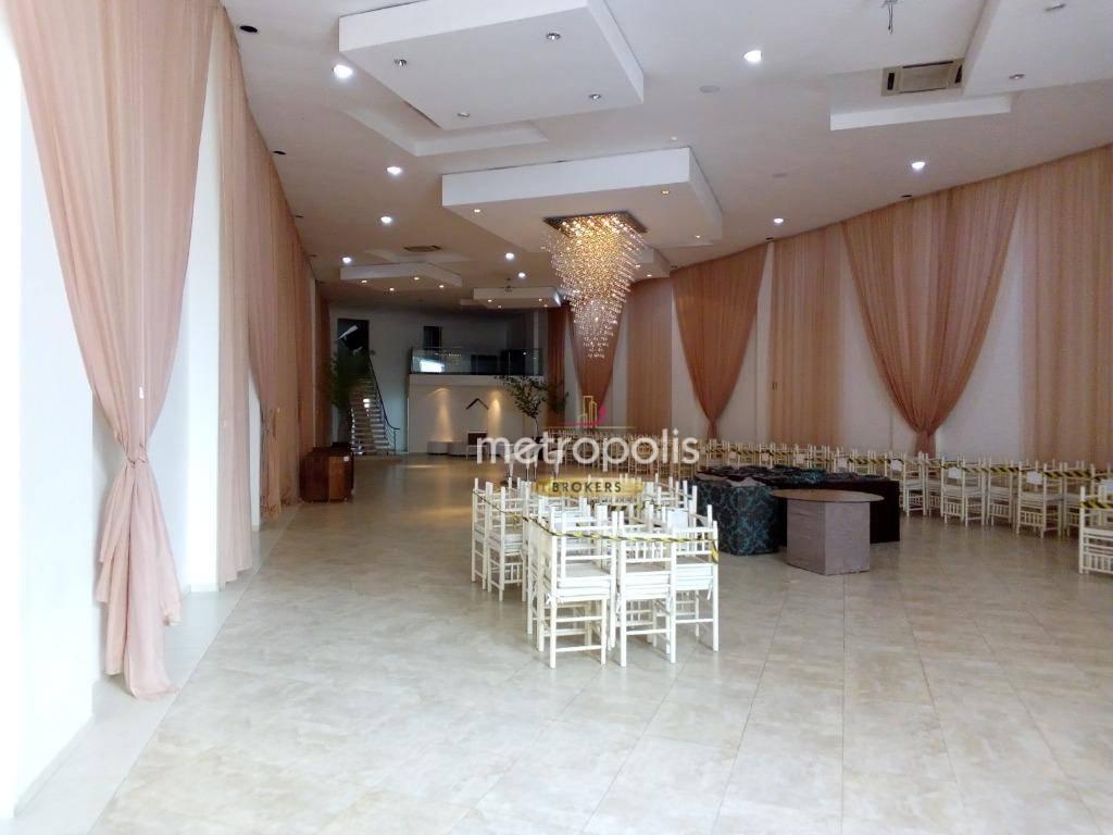 Prédio com 1326m² para alugar, por R$ 29.000/mês - Vila Guiomar - Santo André/SP