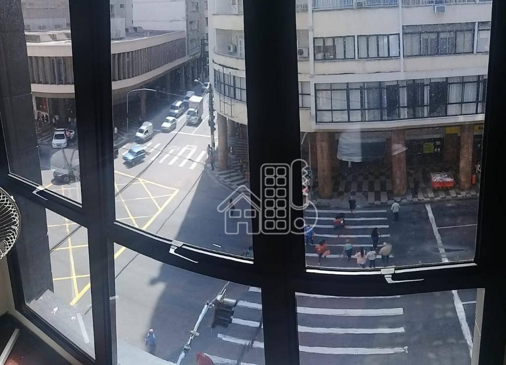 Sala para alugar, 48 m² por R$ 800,00/mês - Centro - Niterói/RJ