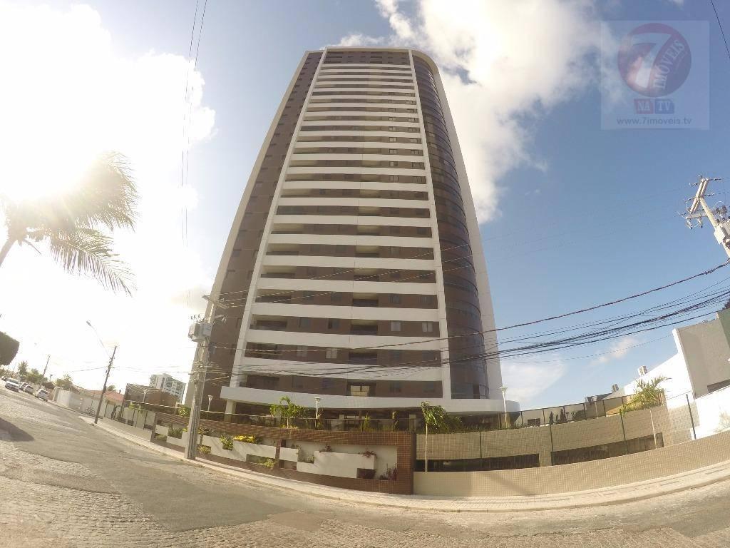 Apartamento residencial para locação, Estados, João Pessoa.