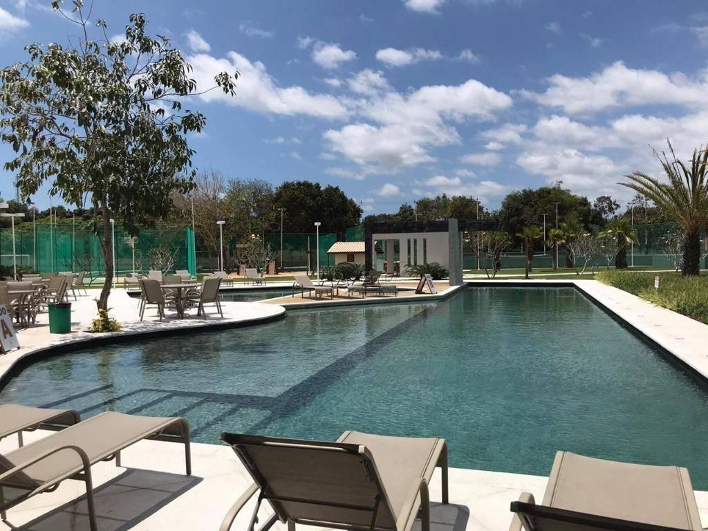 Lote à venda, 376 m², Reserva Terra Brasilis, condomínio fechado, financia - Jacunda - Aquiraz/CE