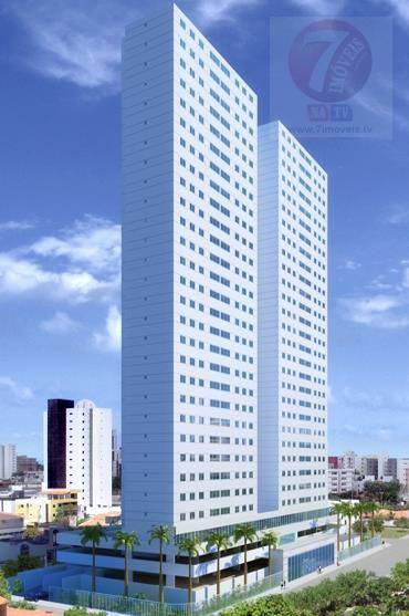 Apartamento residencial à venda, Bessa, João Pessoa - AP0324