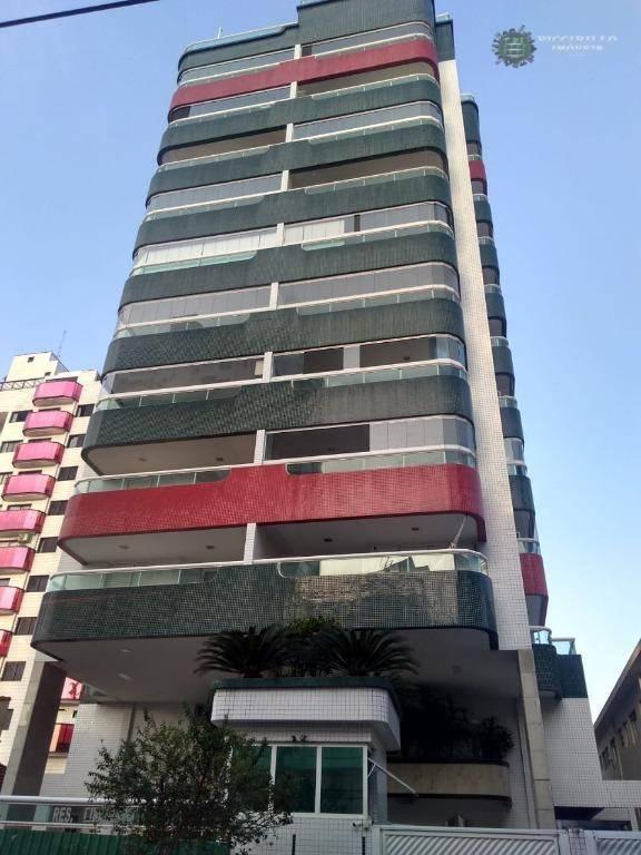 Apartamento 2 dormitórios, 90 m², R$ 390 mil, Canto do Forte, Praia Grande/SP, Conte sempre conosco!