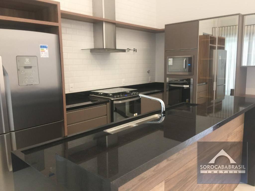 Casa com 3 dormitórios à venda por R$ 1.820.000 - Alphaville Nova Esplanada III - Votorantim/SP, próximo ao Shopping Iguatemi.