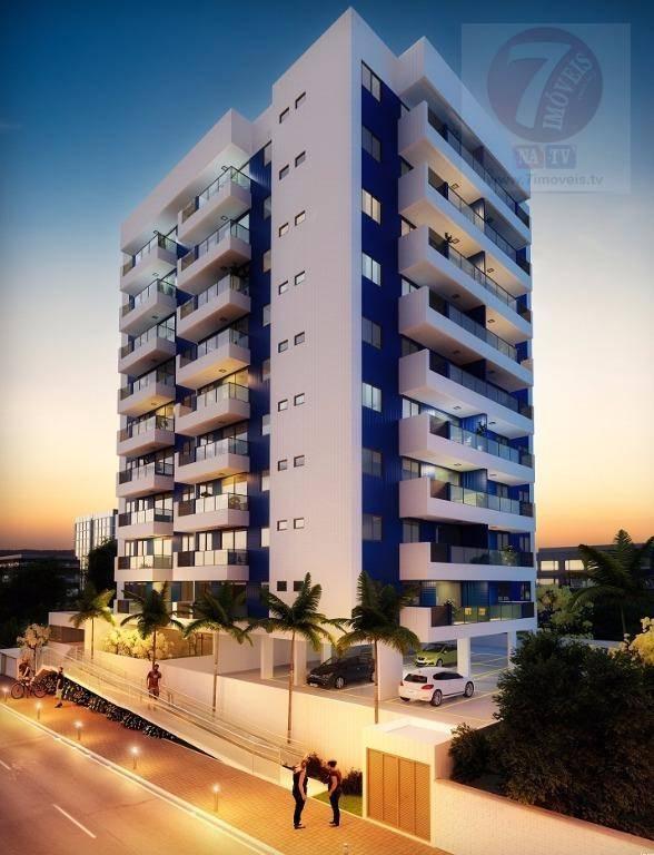 Apartamento residencial à venda, Bessa, João Pessoa - AP0331