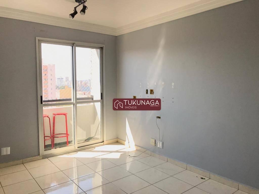 Apartamento com 2 dormitórios para alugar, 66 m² por R$ 1.700,00/mês - Vila Moreira - Guarulhos/SP