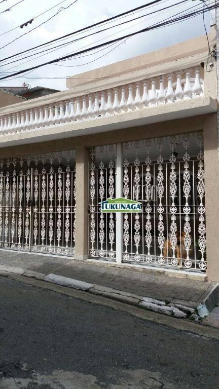 Casa residencial à venda, Vila São João, Guarulhos.