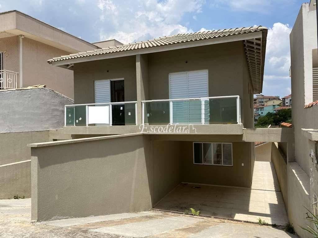 Sobrado com 3 dormitórios à venda, 119 m² por R$ 518.000,00 - Jardim Rio das Pedras - Cotia/SP