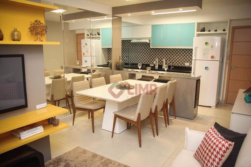 Apartamento residencial para venda e locação, Vila Nova Cidade Universitária, Bauru.